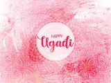 Birthday Card Background Design Hd Happy Ugadi Template Greeting Card for Holiday Mandala Background