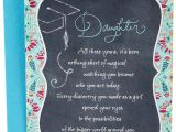 Birthday Card for Daughter In Law Amazon Com Hallmark Graduation Card for Daughter Woman to