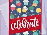 Birthday Card Handmade for Boyfriend Cupcake Boyfriend Birthday Card Handmade Red Birthday Card