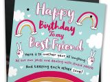 Birthday Card Jokes for Friends Bestfriend Sign Friendship Gift Funny Birthday Card Novelty Gift