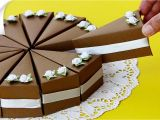 Birthday Card Kaise Banate Hain Diy Cake Gift Boxes Birthday Gift Ideas Thaitrick