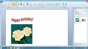 Birthday Card Ke andar Kya Likhe Working with Word Art In Ms Word Hindi A A A A A A
