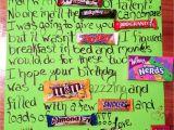Birthday Card Using Candy Bars Candy Bar Birthday Card Happy Birthday Posters Birthday