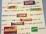 Birthday Card Using Candy Bars Candy Birthday Card Candy Birthday Cards Candy Bar