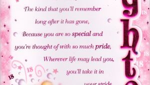 Birthday Card Verses for Daughter Step Daughter Birthday Quotes Special Birthday Poems
