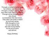 Birthday Card Verses for Mum Birthday Card Verses Card Design Template