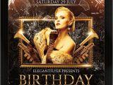 Birthday Club Flyer Template Free 27 Birthday Flyer Templates Creatives Word Psd Ai
