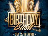 Birthday Club Flyer Template Free Birthday Bash Flyer Psd Templates Creativeflyers