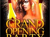 Birthday Club Flyer Template Free Free Grand Opening Party Flyer Template Vol 2