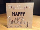 Birthday Love Card with Name Happy Birthday Verjaardag Jarig Feest Hoera Van Harte