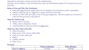 Birthday Party Contract Template Cake order Contract Pin Birthday Party Agreement Pdf