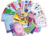 Birthday Wrapping Paper Card Factory Galt toys Girl Club 3d Sparkle Card Factory Gift
