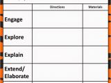 Blank 5 E Lesson Plan Template the 5e Model Our New Lesson Plans Teaching Fifth Grade
