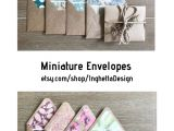 Blank Card and Envelope Sets Miniature Envelopes with Note Cards Cards Set Set Of Blank