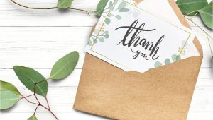 Blank Card without A Message Download Premium Image Of Thank You Card In A Brown Envelope