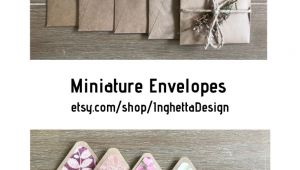 Blank Cards and Envelopes for Card Making Miniature Envelopes with Note Cards Cards Set Set Of Blank