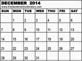 Blank December 2014 Calendar Template Printable Blank Calendar December 2014 New Calendar