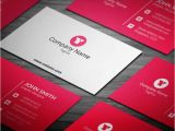 Blank Editable Business Card Templates Free Red Corporate Business Card Template Visitenkarten