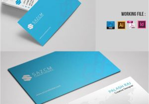 Blank Editable Business Card Templates Minimal Corporate Business Card Corporate Identity Template