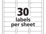 Blank Label Templates 30 Per Sheet Avery Templates 5160 Antiquebertyl