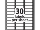 Blank Label Templates 30 Per Sheet Elegant Free Printable Return Address Labels Downloadtarget