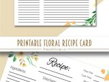 Blank Recipe Card Template for Word 237 Best Recipe Cards Images In 2020 Recipe Cards