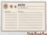 Blank Recipe Card Template for Word Justmynatural Hair Fmatra On Pinterest