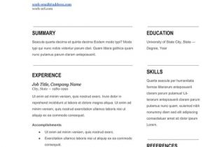 Blank Resume Template to Fill In Modern Fill In Blank Resume Template Works Free Resume