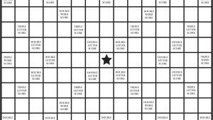 Blank Scrabble Board Template 8 Best Images Of Printable Scrabble Tiles Board Free