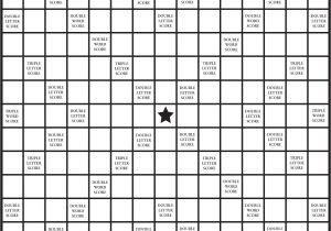 Blank Scrabble Board Template 8 Best Images Of Printable Scrabble Tiles Board Free