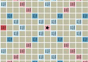 Blank Scrabble Board Template Printable Scrabble Board Printable Scrabble Board House