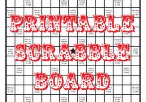 Blank Scrabble Board Template Quirky Artist Loft Diy Printable Scrabble Board
