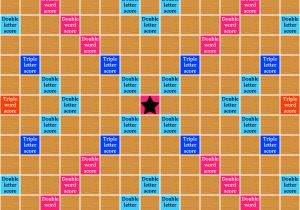 Blank Scrabble Board Template Scrabble and the Rules