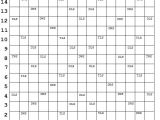 Blank Scrabble Board Template Scrabble Board Printable Scrabble Board