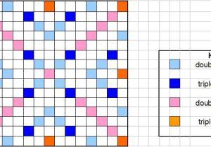 Blank Scrabble Board Template Youth Scrabble Beginners