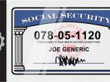 Blank social Security Card Template social Security Cards Explained