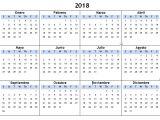 Blank Spanish Calendar Template Blank Spanish Calendar 2018 French Calendar with Holidays