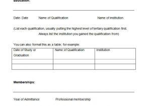 Blank Template Of Resume 46 Blank Resume Templates Doc Pdf Free Premium