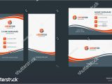 Blank Vertical Business Card Template Double Sided Creative Business Card Template Portrait and