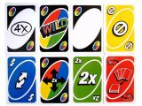 Blank Wild Card Uno attack Mattel Uno attack Game Replacement Cards