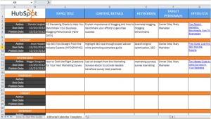 Blog Editorial Calendar Template Excel Le Problematiche Da Affrontare Quando Si Lancia Un Blog