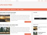 Blogger Product Review Template Lifehack Free Responsive Blogger Template Blogspot theme