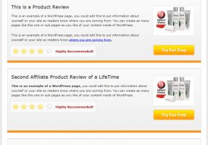 Blogger Product Review Template Multi Product Review Website Templates Mrr