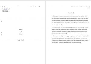 Book Manuscript format Template Word for Writers Part 14 Creating and Using Custom