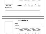 Book Review Template Elementary Free Printable Book Review Template Ks2 Free Book