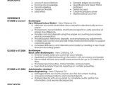 Bookkeeper Resume Sample Unforgettable Bookkeeper Resume Examples to Stand Out