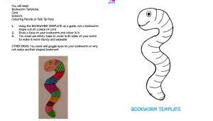Bookworm Bookmark Template Bookworm Template Google Search Bookworms Pinterest