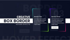 Bootstrap Card Border On Hover Css Skewed Border Creative Box Border Hover Effects HTML Css