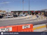 Border Crossing Card El Paso Mexico Usa Border Inspection Stock Photos Mexico Usa