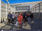 Border Crossing Card El Paso Tijuana Border Crossing Stock Photos Tijuana Border